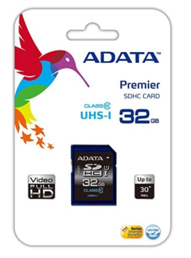 ADATA Premier 32GB High Capacity SD Card